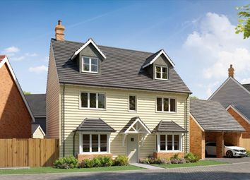 Thumbnail 5 bed detached house for sale in The Moorhen, Waters Edge, Mytchett Road, Nr Camberley, Surrey