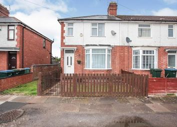 3 bed end terrace house for sale in Holborn Avenue, Holbrooks, Coventry, West Midlands CV6