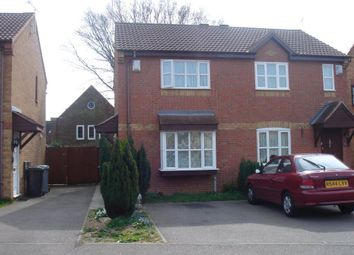 Thumbnail 2 bedroom semi-detached house to rent in Sycamore Close, Kettering