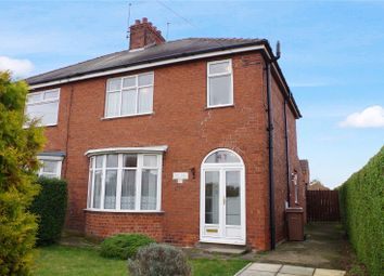 Thumbnail 3 bed semi-detached house for sale in Station Road, Preston, Hull, East Yorkshire