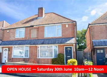 Thumbnail 2 bed semi-detached house for sale in Fairfield Road, Oadby, Leicester