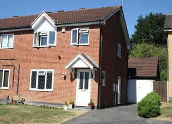 Thumbnail 3 bed semi-detached house for sale in Poachers Close, Glenfield, Leicester