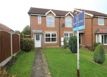 Thumbnail 2 bed semi-detached house to rent in Meadowgate Croft, Lofthouse, Wakefield