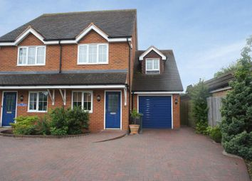 Thumbnail 3 bed semi-detached house for sale in Hill Road, Oakley, Hampshire