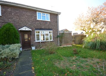 Thumbnail 2 bed semi-detached house for sale in The Larches, Wrentham, Beccles
