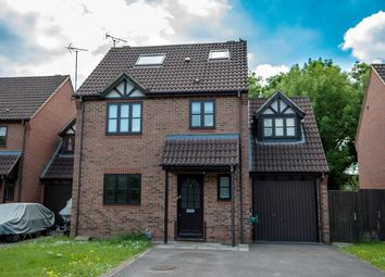 Thumbnail 5 bedroom detached house for sale in Sylvester Close, Winnersh