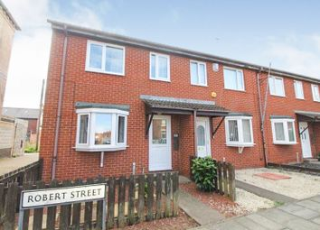 Thumbnail 3 bedroom end terrace house for sale in Robert Street, Blyth