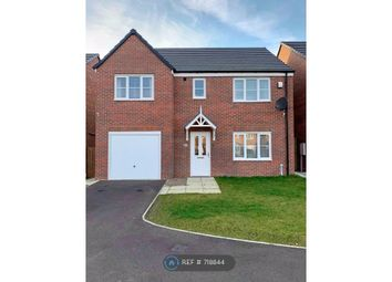 Thumbnail 4 bed detached house to rent in Drake Avenue, Blyth