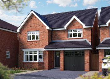 "Thumbnail 4 bed detached house for sale in ""The Haddon"" at Ashlawn Road, Rugby"