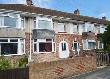 Thumbnail 3 bed terraced house for sale in Dale Avenue, Weymouth