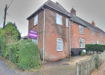 Thumbnail 3 bedroom end terrace house for sale in Newton Street, Newton St Faith, Norwich