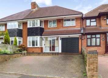 Thumbnail 4 bed semi-detached house for sale in Haunch Lane, Birmingham, West Midlands