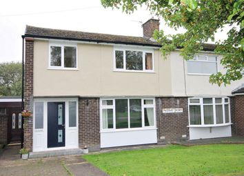 Thumbnail 3 bed semi-detached house for sale in Medway Road, Culcheth, Warrington