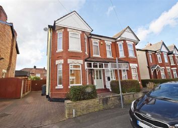 Thumbnail 3 bed semi-detached house for sale in Chapel Road, Northenden, Manchester