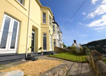 Thumbnail 4 bed terraced house for sale in Rockdene, Barbican Hill, Looe, Cornwall