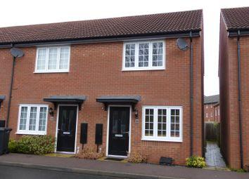 Thumbnail 2 bedroom terraced house to rent in Coleridge Way, Oakham