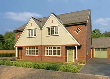 Thumbnail 3 bed semi-detached house for sale in The Avenues At Westley Green, Dry Street, Langon Hills
