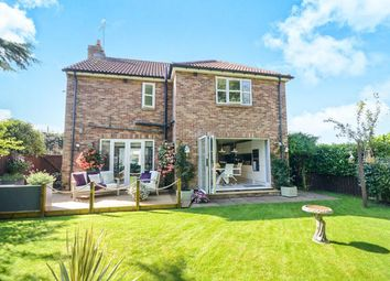 Thumbnail 4 bed detached house for sale in Wetherby Road, Rufforth
