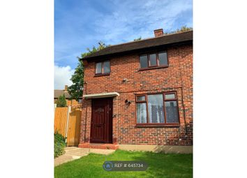 Thumbnail 2 bed semi-detached house to rent in Swindon Gardens, Romford