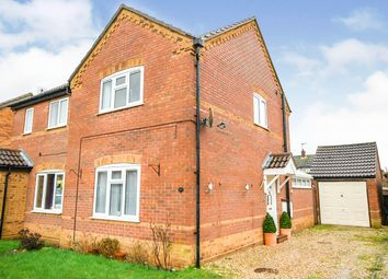 Thumbnail 2 bed semi-detached house for sale in Beechtree Close, Ruskington, Sleaford, Lincolnshire