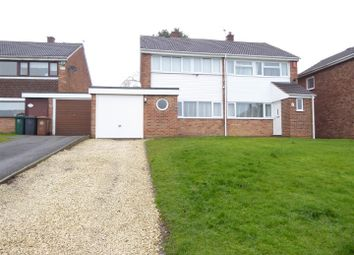 3 bed semi-detached house for sale in South Drive, Newhall DE11