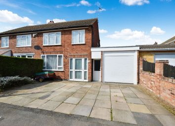 Thumbnail 3 bed semi-detached house for sale in Ingleby Road, Wigston, Leicester