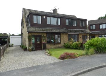 Thumbnail 3 bed semi-detached house for sale in Hebden Avenue, Culcheth, Warrington, Cheshire