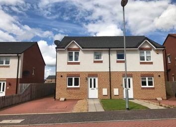 Thumbnail 3 bed semi-detached house for sale in Bowhill Road, Chapelhall, Airdrie