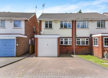Thumbnail 3 bedroom semi-detached house for sale in St Johns, Walsall Wood, Walsall