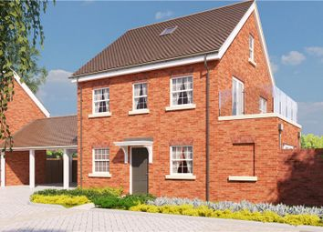 Thumbnail 4 bed detached house for sale in Terrace Road North, Binfield, Berkshire