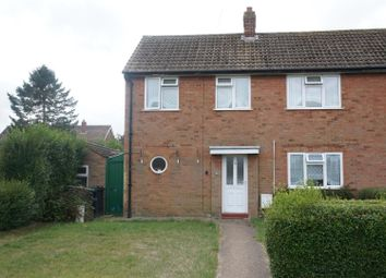 Thumbnail 3 bed semi-detached house for sale in Millards Close, Cranfield, Bedford