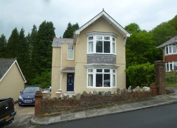 Thumbnail 3 bedroom detached house to rent in Davies Road, Ynysmeudwy, Swansea.
