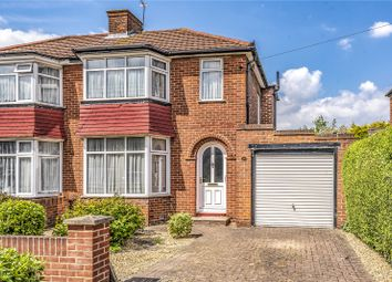 Thumbnail 3 bedroom semi-detached house for sale in Broadcroft Avenue, Stanmore, Middlesex