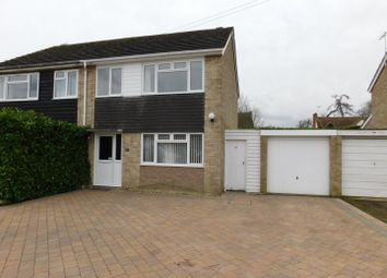 Thumbnail 3 bed semi-detached house for sale in Ash Road, Onehouse, Stowmarket
