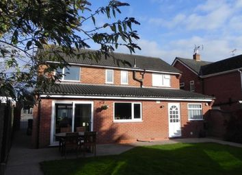 Thumbnail 4 bed detached house for sale in Gloucester Crescent, Wigston, Leicester, Leicestershire