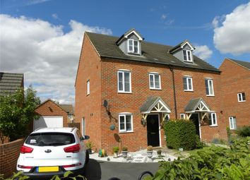 Thumbnail 3 bed semi-detached house for sale in Ashmead Road, Bedford