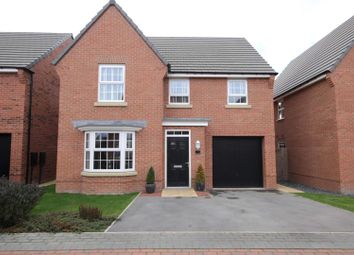 Thumbnail 4 bed detached house for sale in Beckfield Rise, Auckley, Doncaster