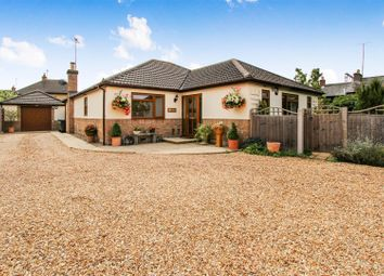 Thumbnail 3 bed detached bungalow for sale in New Road, Woodwalton, Huntingdon