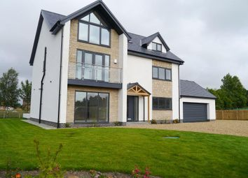Thumbnail 6 bed detached house for sale in Medburn Close, Medburn, Nr Ponteland
