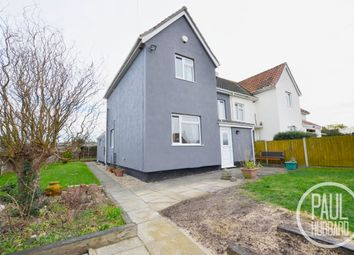 Thumbnail 3 bed semi-detached house for sale in Beccles Road, Loddon, Norwich
