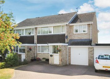 Thumbnail 4 bed semi-detached house for sale in Barra Close, Highworth, Wiltshire
