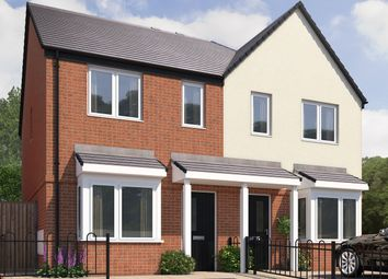 Thumbnail 2 bed semi-detached house for sale in The Morton, Doulton Road, Rowley Regis
