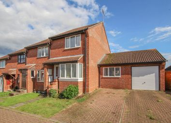 Thumbnail 2 bed end terrace house for sale in Meadowsweet Close, Haverhill