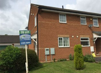 Thumbnail 2 bed semi-detached house to rent in Beaumont Rise, Worksop, Nottinghamshire