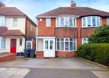 Thumbnail Semi-detached house for sale in Charlbury Crescent, Yardley, Birmingham