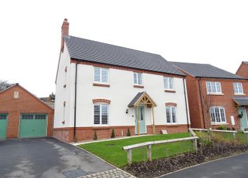 Thumbnail 4 bed detached house for sale in Blackham Road, Hugglescote, Leicestershire