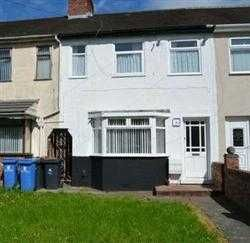 Thumbnail 3 bedroom terraced house to rent in Kingsway, Huyton, Liverpool