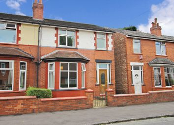 Thumbnail 3 bedroom semi-detached house for sale in 31, Criccieth Road, Cheadle Heath, Stockport, Greater Manchester