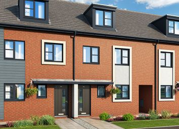 "Thumbnail 3 bedroom property for sale in ""The Chiltern At Meadow View, Shirebrook"" at Brook Park East Road, Shirebrook, Mansfield"