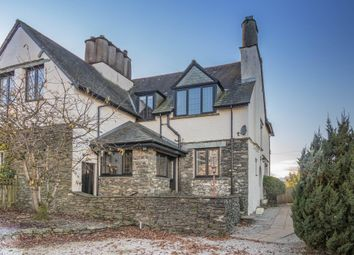 Thumbnail 3 bed semi-detached house for sale in Blencathra, Including Building Plot, Park Road, Windermere